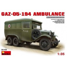 MiniArt 1/35 Советский санитарный автобус ГАЗ-05-194. № 35164