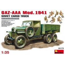 MiniArt 1/35 Советский грузовой автомобиль Газ-ААА Модификации 1941 г. № 35173
