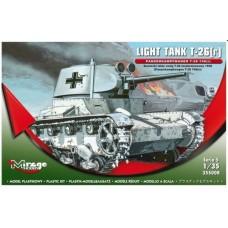 Mirage Hobby 1/35 Немецкий (трофейный советский) лёгкий танк Т-26 (r) Panzerkampfwagen T-26 740 (r). № 355008