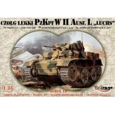 Mirage Hobby 1/35 Немецкий лёгкий разведывательный танк Pz.Kpf W II Luchs Ausf. L. № 35107