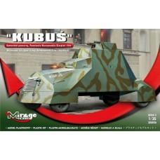 Mirage Hobby 1/35 Польский лёгкий бронеавтомобиль Кубуш (Kubus), Варшавское Восстание, 1944. 355026