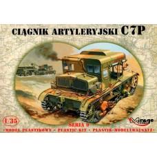 Mirage Hobby 1/35 Польский артиллерийский тягач C7P. № 35901