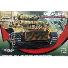 Mirage Hobby 1/35 Немецкий лёгкий разведывательный танк Sd.Kfz 123 Pz.Kpf W II Luchs 4. № 351008