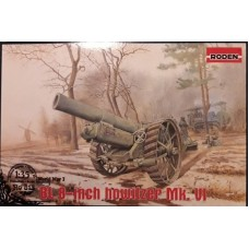 Roden 1/35 Британская 8-ми дюймовая гаубица I мировой войны BL 8-inch howitzer Mk. VI. № 813