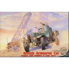Roden 1/35 Британский бронеавтомобиль Pattern 1920, модификация с колёсами для пустыни. № 802