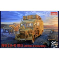 Roden 1/35 Немецкий штабной автобус Opel Blitz Omnibus Model W39. № 810