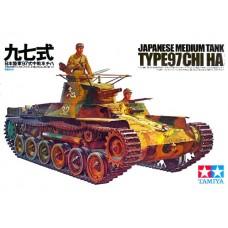 Tamiya 1/35 Японский средний танк Type 97 Chi Ha. № 35075