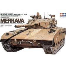 Tamiya 1/35 Израильский основной боевой танк Merkava. № 35127