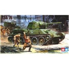 Tamiya 1/35 Советский средний танк Т-34/76 (модификация ЧТЗ, 1943 года). № 35149