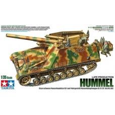 Tamiya 1/35 Немецкая САУ 15cm schwere Panzerhaubitze 18/1 auf Fahrgestell PzKpfw. III/IV (Sf) Sd.Kfz. 165 Hummel (Позднее производство). № 35367