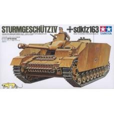 Tamiya 1/35 Немецкая САУ Sturmgeschutz IV, Sd.Kfz. 167 (StuG IV). № 35087