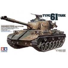 Tamiya 1/35 Японский основной боевой танк Type 61. № 35163
