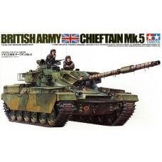 Tamiya 1/35 Британский основной боевой танк Chieftain Mk.5. № 35068
