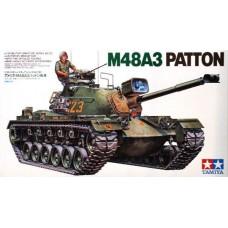 Tamiya 1/35 Американский средний танк M48A3 Patton. № 35120