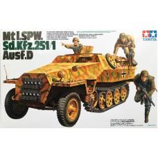 Tamiya 1/35 Немецкий БТР Mtl. SPW Sd.Kfz.251/1 Ausf.D. № 35195