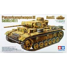 Tamiya 1:35 Немецкий средний танк Pz.Kpfw.III Ausf.L (Sd.Kfz.141/1). № 35215