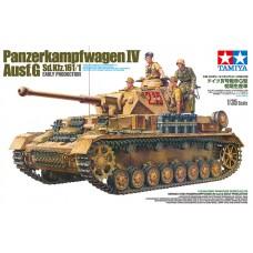 Tamiya 1/35 Немецкий средний танк Pz.Kpfw.IV Ausf.G Sd.Kfz 161/1 Early Production. № 35378