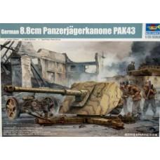 Trumpeter 1/35 Немецкая 88-мм противотанковая пушка  PAK 43 8.8cm Panzerjagerkanone. № 02308