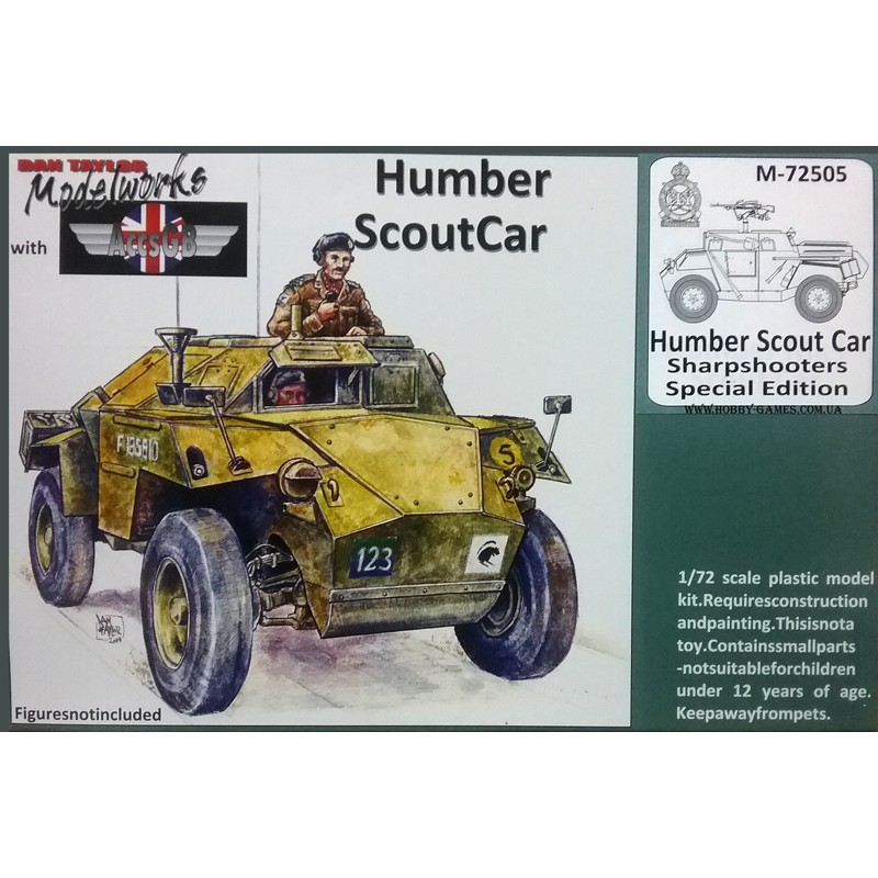 Accsgb 1//72 Humber Mk I Scout voiture
