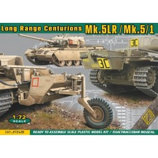 ACE 1:72 Британский средний танк Long Range Centurions Mk.5LR/Mk.5/1 with external fuel tanks. № 72428