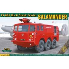 ACE 1/72 Британская пожарная машина FV-651 Salamander Mk.6 Crash Tender. № ACE_72434