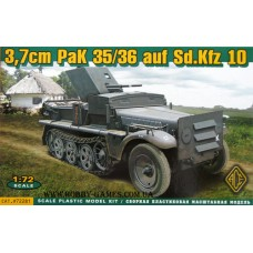 ACE 1/72 Немецкое самоходное противотанковое орудие PaK 35/36 на базе тягача SdKfz 10. № 72281