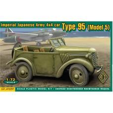 """ACE 1/72 Японский автомобиль Type 95 """"Пикап"""" (Model 5). № 72297"""