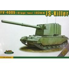 ACE 1/72 Британская противотанковая 183-мм САУ FV4005 Stage II. № 72429