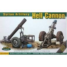 ACE 1/72 Сирийская артиллерия, Hell Cannon (2 орудия). № 72444