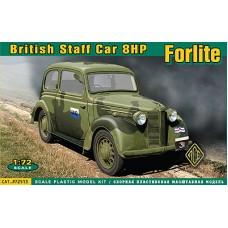 ACE 1/72 Британский штабной легковой автомобиль 8НР Forlite. № 72513