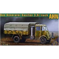 ACE 1/72 Французский грузовик 3,5т Renault AHN с газовым генератором. № 72532