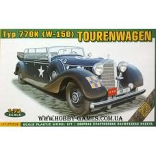 ACE 1/72 Автомобиль германского руководства Mercedes-Benz Typ 770K (W-150) Grosser Mercedes. № ACE_72558