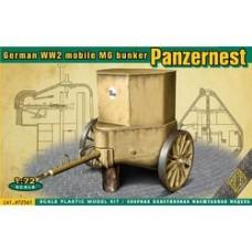 """ACE 1/72 Немецкий пулеметный броневой колпак """"MG - Panzernest"""" (Краб). № 72561"""