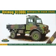 ACE 1/72 Немецкий армейский грузовой автомобиль Mercedes-Benz Unimog U1300L 4X4. № 72450