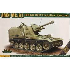 ACE 1/72 Французская 105мм САУ AMX Mk.61. № 72453