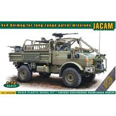 ACE 1/72 Бельгийский автомобиль JACAM 4x4 Unimog для сил специальных операций. № 72458