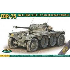 ACE 1:72 Французская разведывательная бронемашина EBR F1 09 mod.1951 с башней FL-11. № 72459