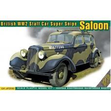 ACE 1/72 Британский автомобиль Humber Super Snipe Saloon. № 72550