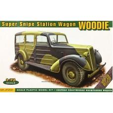 ACE 1/72 Британский автомобиль Humber Super Snipe Saloon (Woodie). № 72551