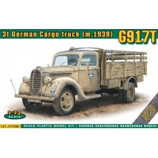 ACE 1/72 Немецкий 3-х тонный грузовик Ford G917T (стандартная кабина). № 72580