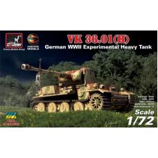Armory Models Group 1:72 Немецкий опытный тяжёлый танк VK 36.01(H) / Panzerkampfwagen VI Ausf.B. № 72210