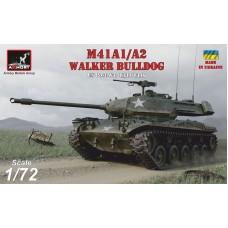 Armory Models Group 1/72 Американский лёгкий танк M41A1/A2 Walker Bulldog. № 72412