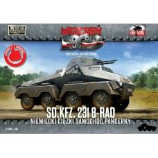 First to Fight 1:72 Немецкий тяжёлый бронетранспортёр Sd.Kfz. 231 (8-Rad). № 065