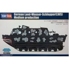 Hobby Boss 1/72 Немецкий тягач-амфибия (Land-Wasser-Schlepper (LWS) середина производства. № 82919