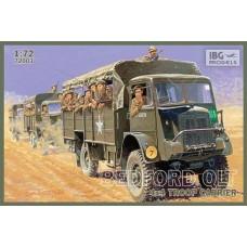 IBG Models 1/72 Британский грузовик Bedford QLT 4x4. № 72003