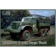 IBG Models 1/72 Американский бортовой грузовик Diamond T Model 968. № 72019