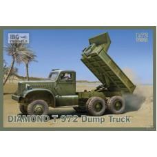 IBG Models 1/72 Американский самосвал Diamond T Model 972. № 72021