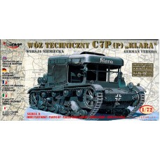 Mirage Hobby 1/72 Немецкая эвакуационная машина C7P(p) 'Klara'. № MIH_72892
