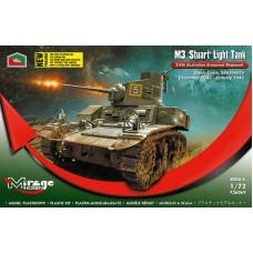 Mirage Hobby 1/72 Австралийский лёгкий танк М3 Stuart. № 726069