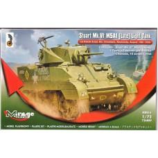 Mirage Hobby 1/72 Американский лёгкий танк М3A3, Liberation of Paris. № 726089